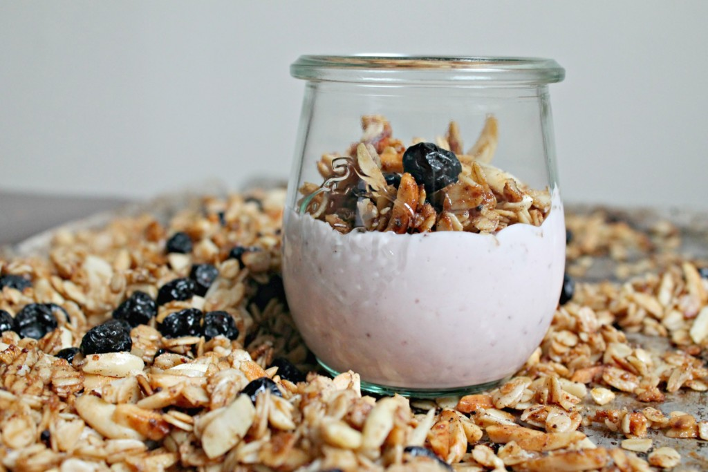 Cashew and Coconut Granola